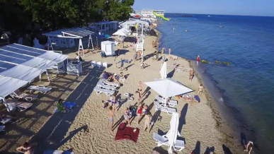 Пляж «Робинзон» и пляж «Горький»